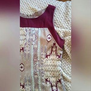 Forever 21 Dresses - Aztec Print Shift Dress