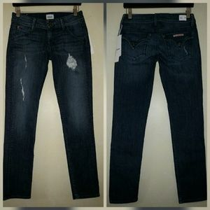Hudson Jeans Denim - Hudson Collin Skinny Jeans Ankle Samtosa