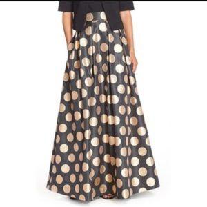Eliza J Dresses & Skirts - Eliza J Polka Dot Jacquard Ball Skirt