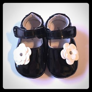 Jack and Lily Black Mary Jane Mocs