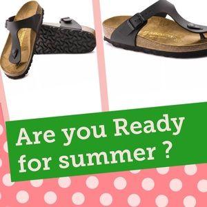 Birkenstock Shoes - ♥️Birkenstock shoes thongs Birko Flor faux leather