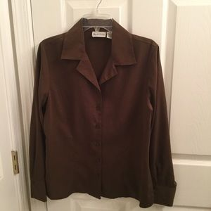 Apparenza Tops - Brown Shirt. New without tags.