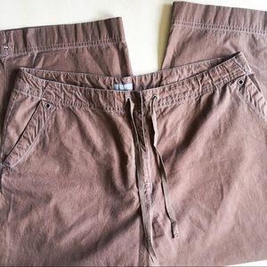 J. Jill Pants - J. Jill Women's Capri Loose Fit Pants