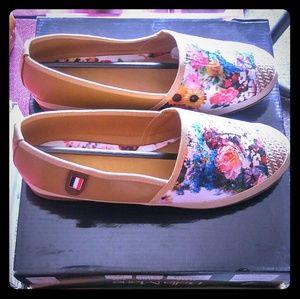 UNBRANDED Shoes - Women's Floral Espadrilles