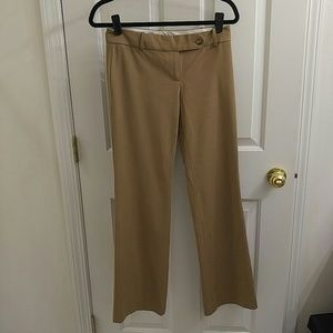 LOFT Pants - Ann Taylor LOFT Tan Dress Pants - 5/4
