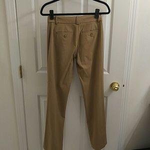 LOFT Pants - Ann Taylor LOFT Tan Dress Pants - 5/4