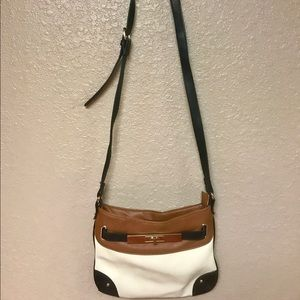 Cross body satchel purse