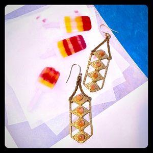Lulu Frost Jewelry - 🌙Lulu Frost Coral Dreamlink Earrings-Brand New