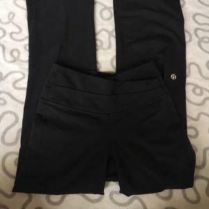 Lululemon Black Yoga Pants