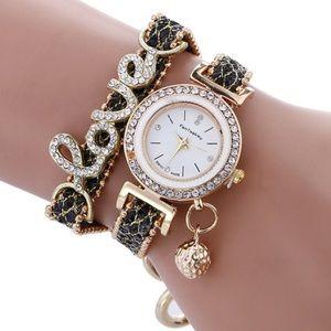 Jewelry - NEW WRAP AROUND BRACELET WATCH