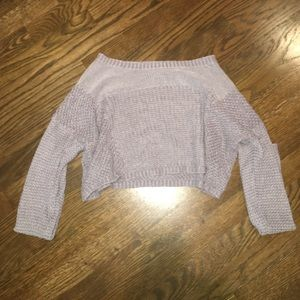 UO Cropped Knit Sweater
