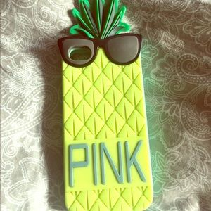 PINK Pineapple iPhone 5/5s Case
