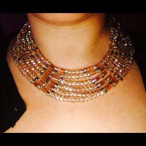 nOir Jewelry Jewelry - Gold beaded necklace brand new