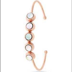 Vince Camuto Rose Gold-Tone Skinny Cuff Bracelet