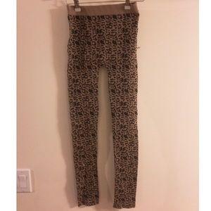 Poof! Pants - New Black & Brown Cheetah Print Leggings