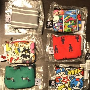 JuJuBe Coin Purses Lot of 6