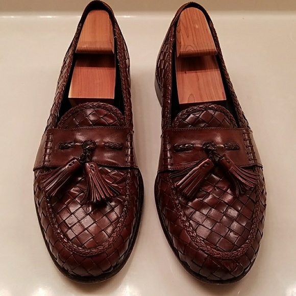 bc9dc8dac8a Cole Haan Other - Cole Haan Bragano Woven Tassel Loafers