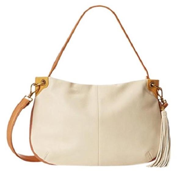 28c37ed9c5 HOBO Handbags - Hobo original VALE leather crossbody BIRCH BRANDY