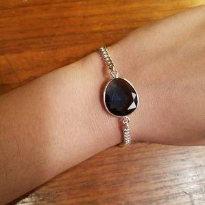 Jewelry - Sterling Silver Blue Sapphire Bracelet