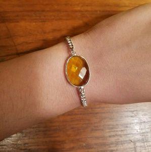 Jewelry - Sterling Silver Yellow Citrine Bracelet