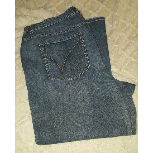 135132a9495 Lane Bryant Denim - Plus Size Lane Bryant Denim Bootcut Jeans Size 26