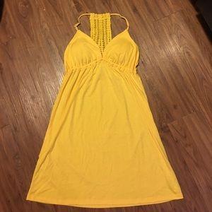 Belle Du Jour Dresses & Skirts - Bella du Jour Summer Yellow Dress Size L