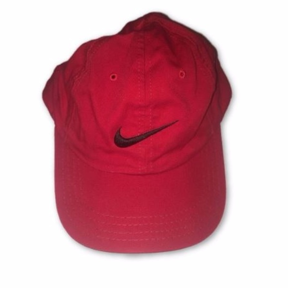 Nike Golf Fitted Hat Cap Red Black 7 3 8. M 599de2b04225be0e4c01b994 387778b9cd