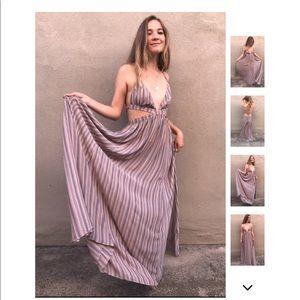 Dresses & Skirts - LAST 4️⃣ Dusty Shores Cut Out Maxi