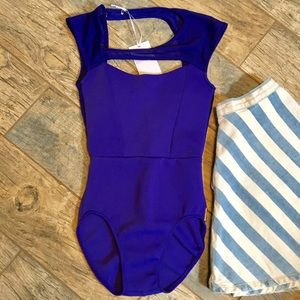 Cleo Harper Other - Cleo Harper Parker Neoprene/Mesh Bodysuit/Swimsuit