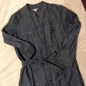 Gap Chambray Shirtdress/Utility Dress