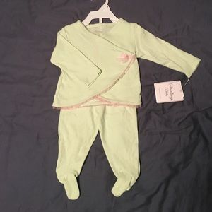 Sterling Baby Other - Sterling Baby 6M Mint Green Pajamas NWT