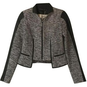 Stella & Jamie Black and gray blazer size medium