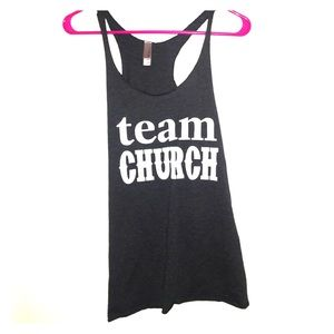 next level Tops - TEAM CHURCH TANK SZ SMALL!