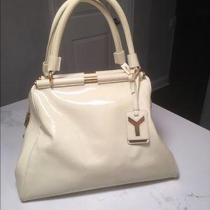 Yves Saint Laurent Handbags - YSL patent leather satchel 👜 PRICE FIRM👜