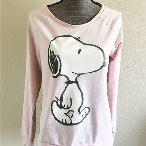 Peanuts Tops - Women's Peanuts Snoopy Walking Front Sublimated