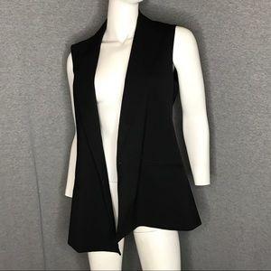 THEORY Black Vest size 8