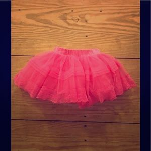 MONA LISA Other - Hot pink tulle tutu skirt w/ beautiful details.