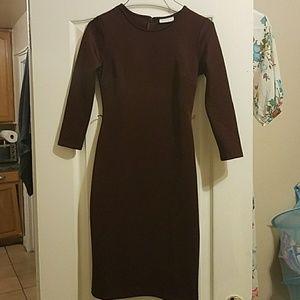 New York & Company Dresses & Skirts - New York & company burgandee dress