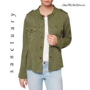 Sanctuary Jackets & Blazers - 🆕NWT Sanctuary cadet green twill utility jacket