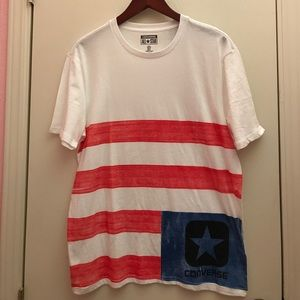 Converse Other - Converse American flag inspire T-shirt