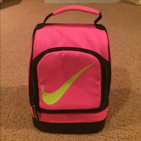 pink nike bag