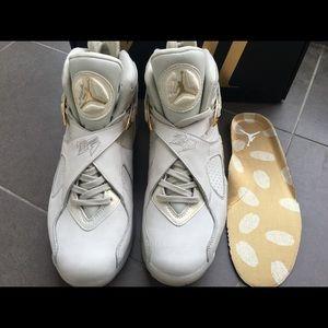 4900684e65bd Nike Shoes - nike air jordan 8 retro champagne size 9