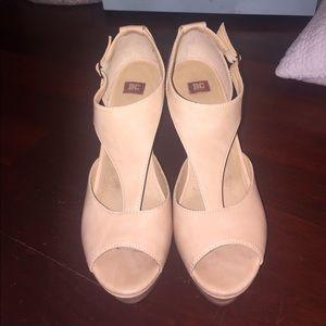 BC Footwear Shoes - NUDE WEDGES
