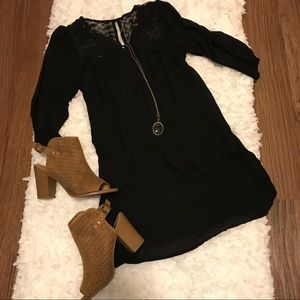She and Sky Dresses & Skirts - Black Baby Doll Dress