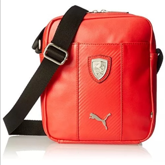 Puma Bags   Mens Ferrari Long Sleeve Portable Bag   Poshmark b7f55f4e44