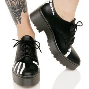 Iron Fist Shoes - GRAVE ROBBER DERBY