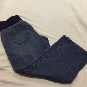 Liz Lange maternity crop jeans