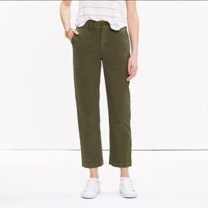 Madewell Pants - Madewell Cruiser Straight Chino Pants