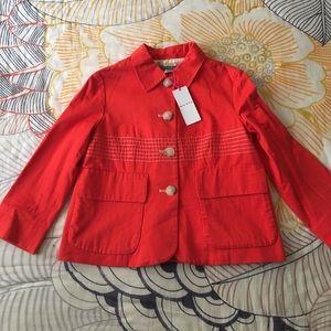 Orla Kiely Jackets & Blazers - Orla Kiely Orange Jacket