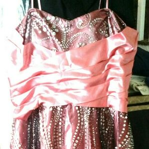 Dresses & Skirts - Pick up only Pink Blk gown(box 21-dress1)NO Gmail
